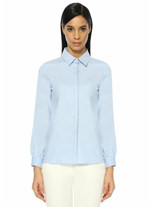 Beymen Club Uzun Kollu Gömlek Mavi